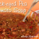 Black-eyed Pea & Tomato Soup
