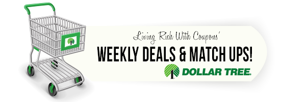 Dollar Tree Coupon Match Ups - 9/15