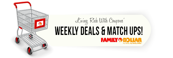 Family Dollar Coupon Match Ups - 9/22
