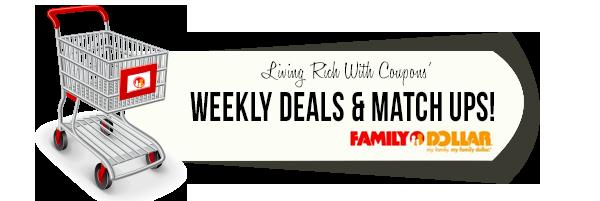 Family Dollar Coupon Match Ups - 9/22
