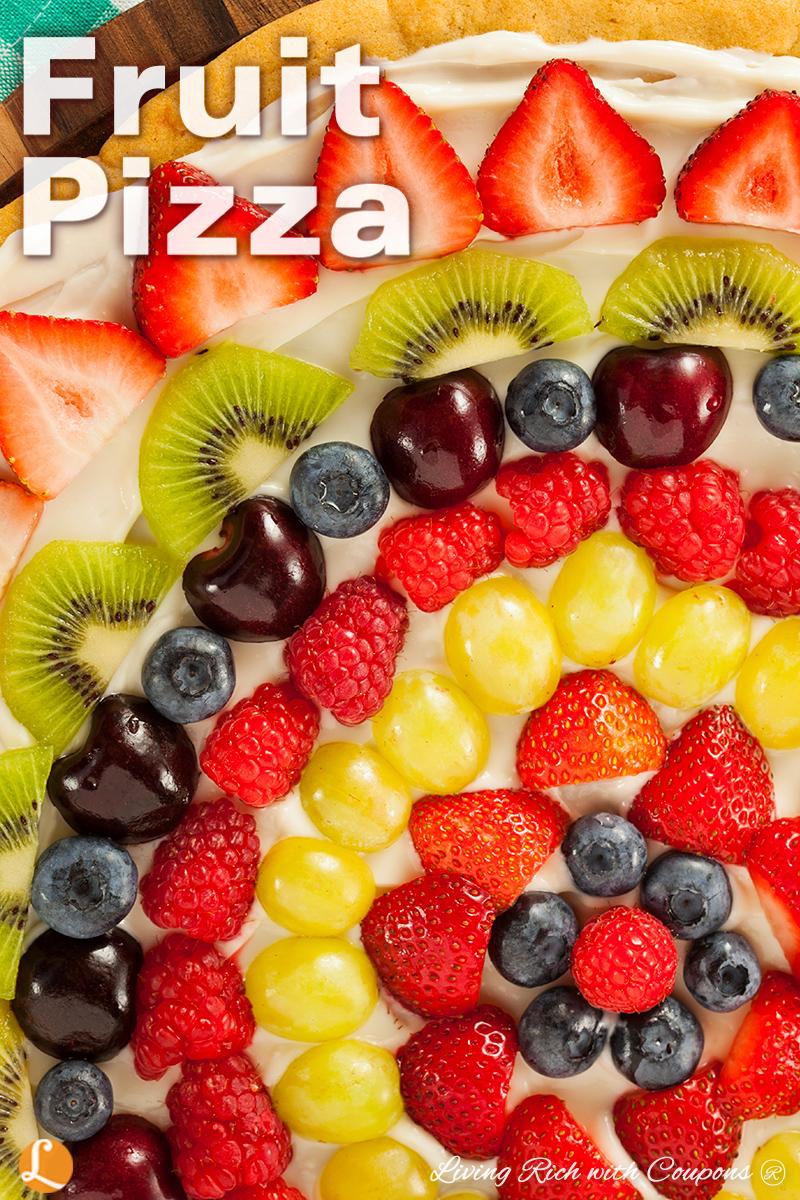 Fruit Pizza recipe - verticle
