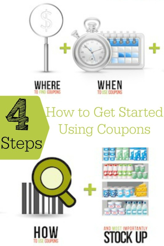 How to Get Started Using Coupons - 4 Easy Steps