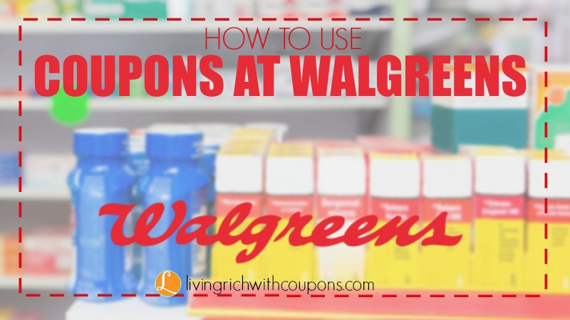 How to use coupons at Walgreens