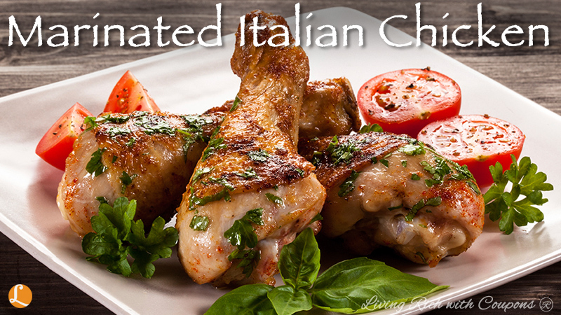 Marinated Italian Chicken Recipe