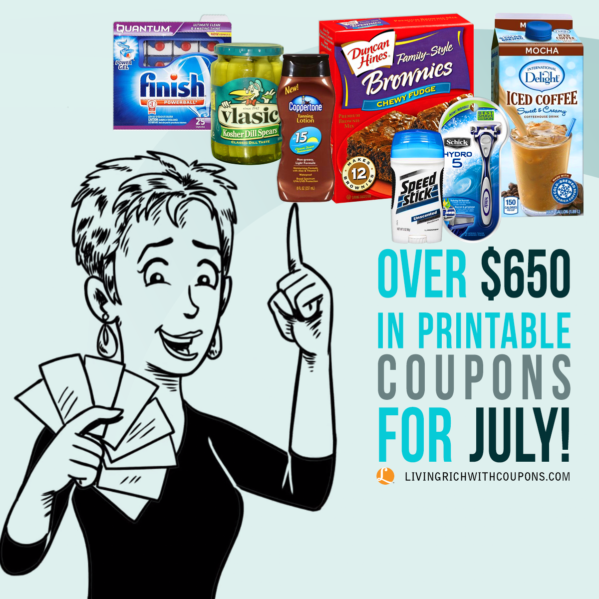 Printable Coupons for July - $650 Available to Print!Living Rich ...