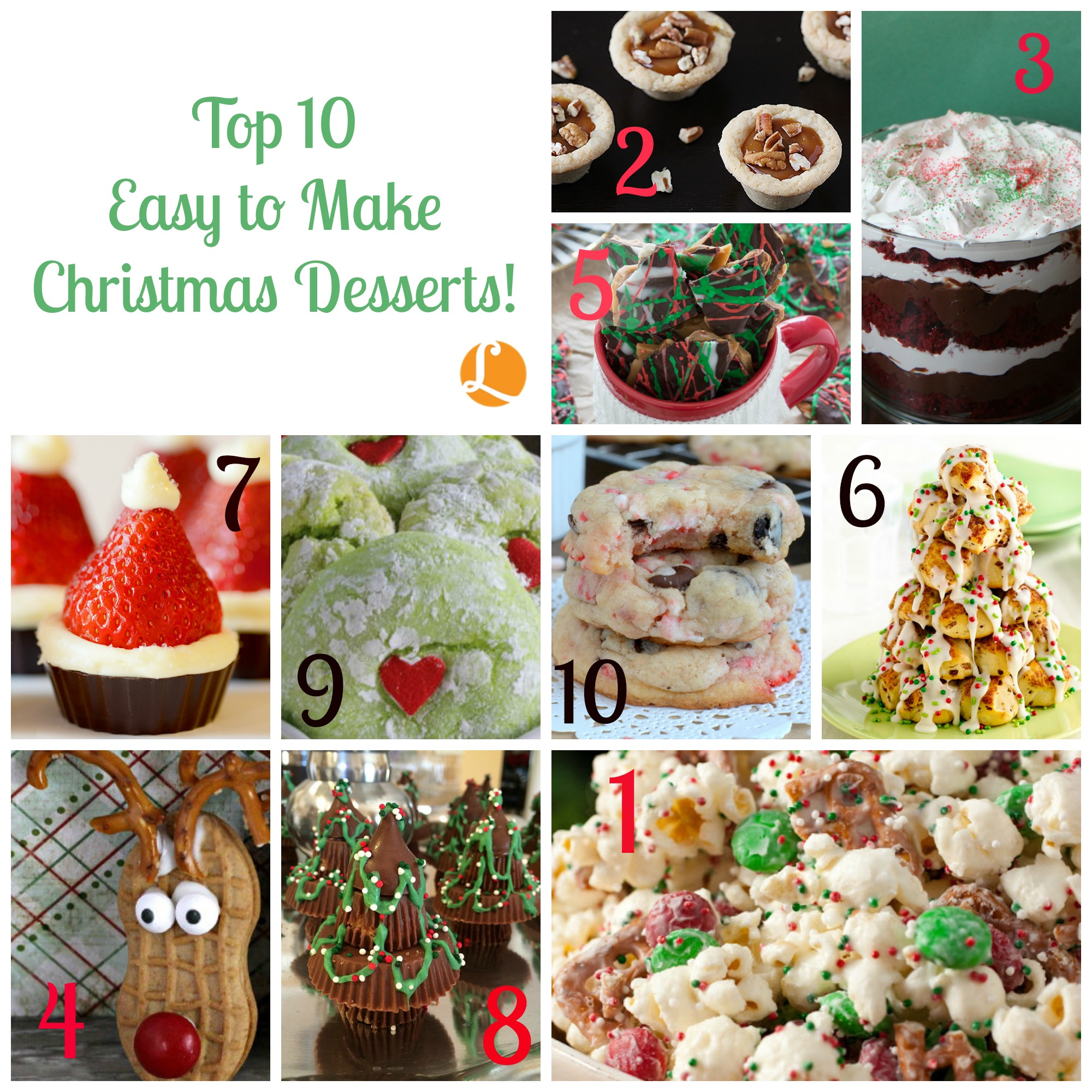 Top 10 Easy To Make Christmas Desserts –-Living Rich With