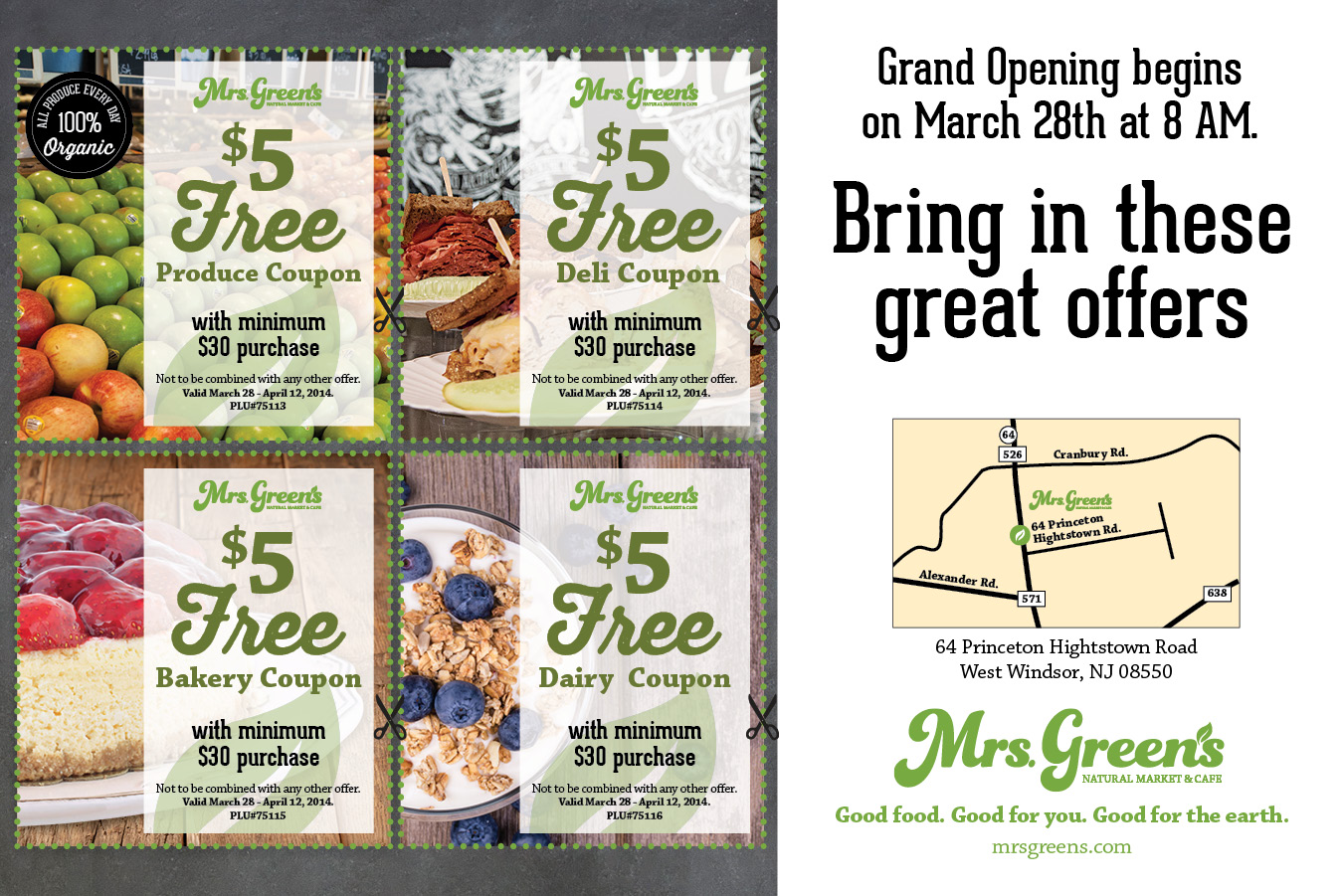 Mrs. Greens Coupons