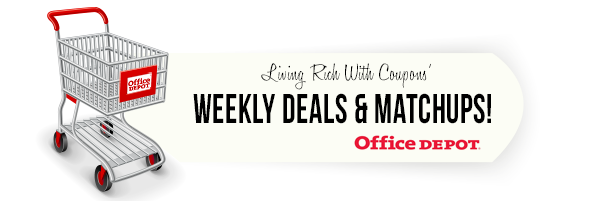 Office Depot Coupon Match Ups - 12/22