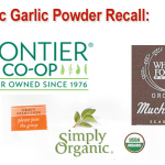 Organic Garlic Powder Recall 3-18-2015