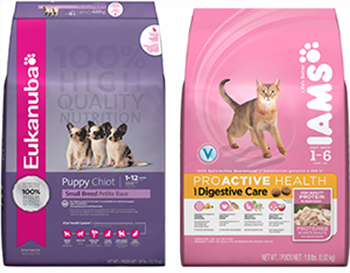 P&G Pet Food recall