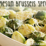 Parmesan Brussels Sprouts recipe