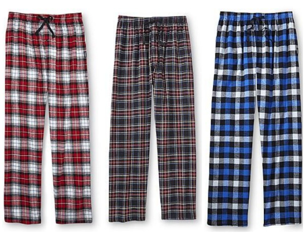 Hanes Men S Flannel Pajama Pants Only 7 99 Free Ship To