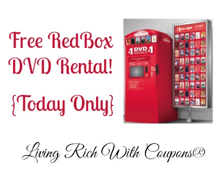 Redbox coupon code
