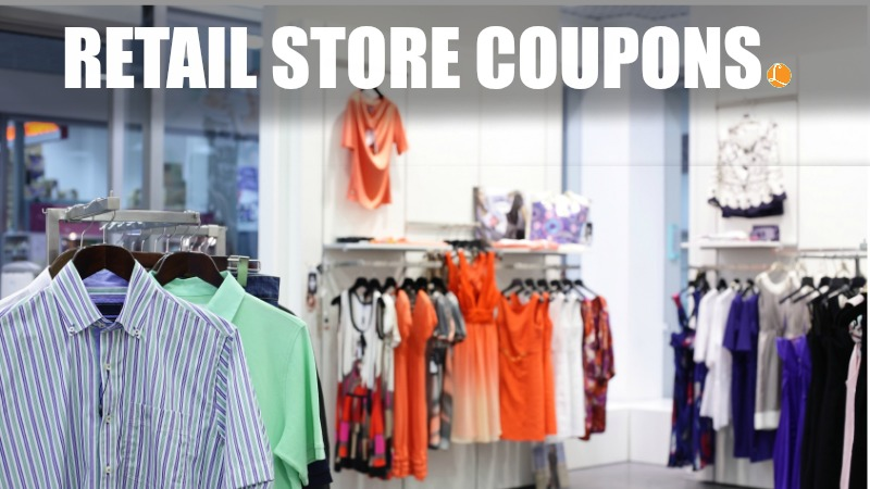Free printable retail shopping coupons