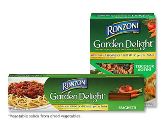 Ronzoni pasta coupons