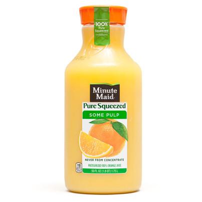 Minute Maid Orange Juice Bottle