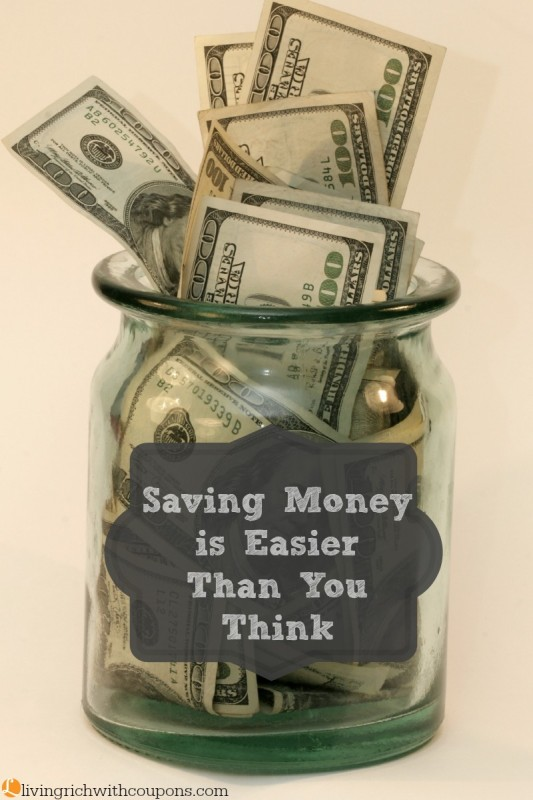 Saving Money is Easier Than You Think