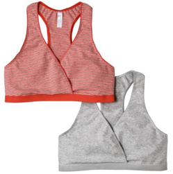 0ccca6940 Gilligan   O Malley Nursing Sports Bras 2 Pack 41% off + Free Shipping at  Target