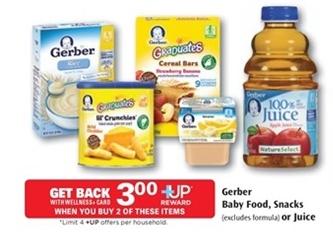 Gerber Coupon 1 00 Off Gerber Organic Baby Food Cereal