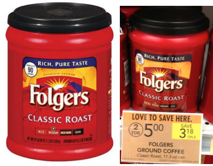 Folgers Coffee usually goes on sale for $, and Folgers offers coupons as high as $2 off, making it only $ after the coupon for the oz of coffee. 2. The Folgers coffee, oz, typically costs around $ at most stores.
