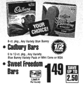 Cadbury Ice Cream Coupon