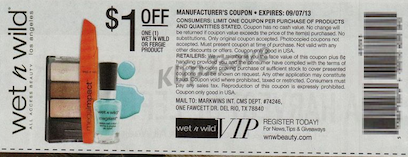 Wet N Wild Coupon
