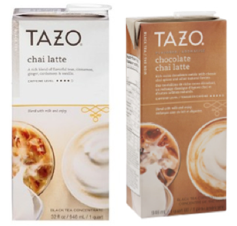 Tazo Latte Coupons