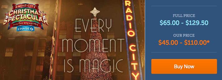 Radio city coupons