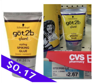 Got2B Hair Care CVS Deal