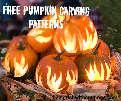 Free Pumpkin Carving Patterns 2013
