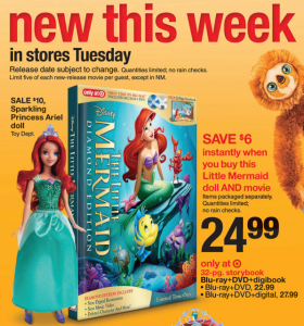 Little Mermaid DVD Coupon