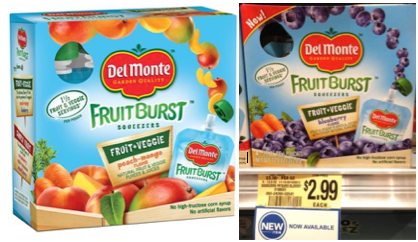 Del Monte Fruit Burst Coupon
