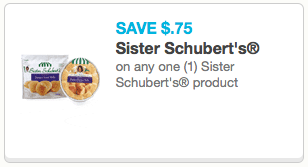 Sister schubert coupon off any 1 sister schubert for Home depot sister companies