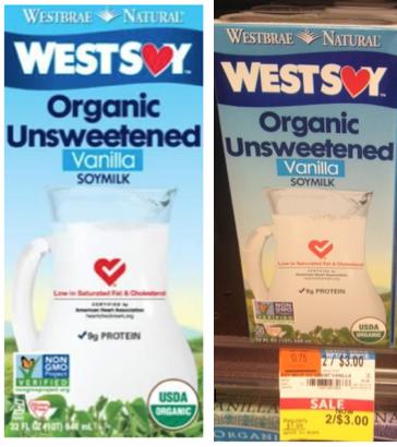 WestSoy Organic Soymilk Deal