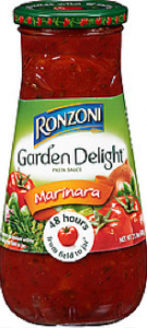 Ronzoni Garden Delight Coupon