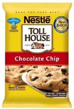 Nestle Toll House Cookie Dough Coupon