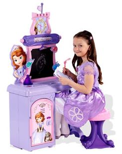 Disney Princess Sofia the First Prep Talking School Desk