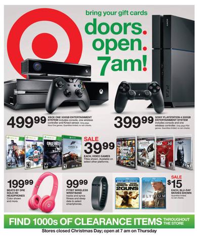 Target After Christmas Sale 2013