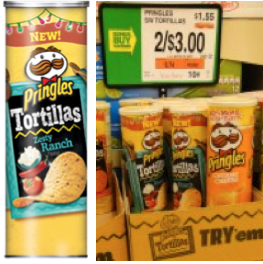 Pringles Tortilla Coupon