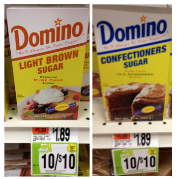 Domino Sugar Coupon. Starting 11/02 Stop & Shop and Giant will have Domino Confectioners, Light or Dark Brown Sugar 2lb on sale for just $ each!