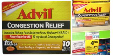 Advil Congestion Relief CVS Deal
