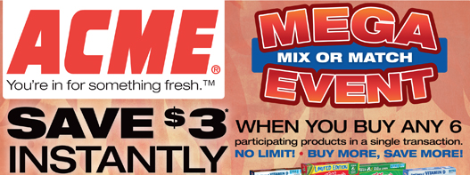 Acme Mega Instant Savings