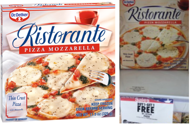 Dr. Oetker Pizza Coupon