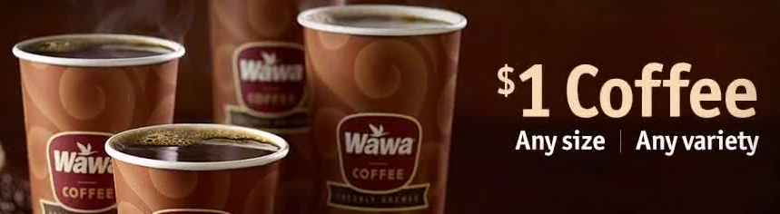 graphic relating to Wawa Coupons Printable identify Wawa Coupon - $1.00 Espresso Day by day All Working day -Dwelling Abundant