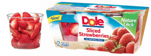 Dole Frozen Fruit Cup Coupon