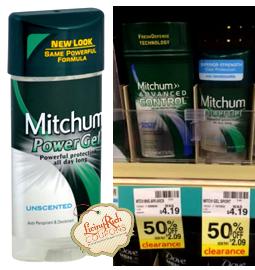 Mitchum Deodorant CVS Deal