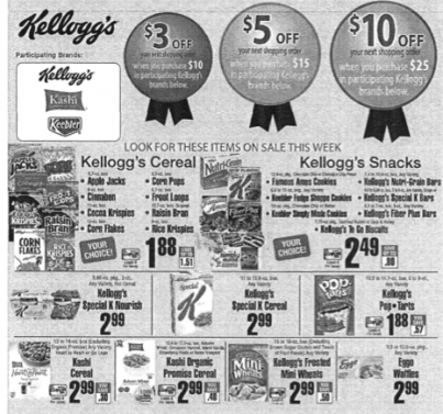 Kellogg's ShopRite Deal