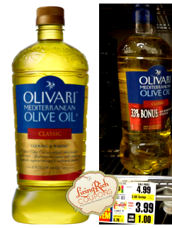 Olivari Olive Oil ShopRite Deal