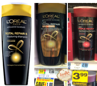 L'Oreal Paris Advanced Hair Care Deals