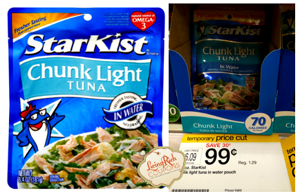 StarKist Tuna Pouch Target Deal